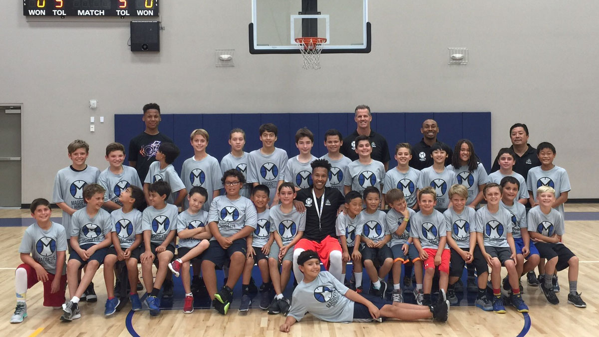 Maggette Basketball Youth Basketball in Orange County